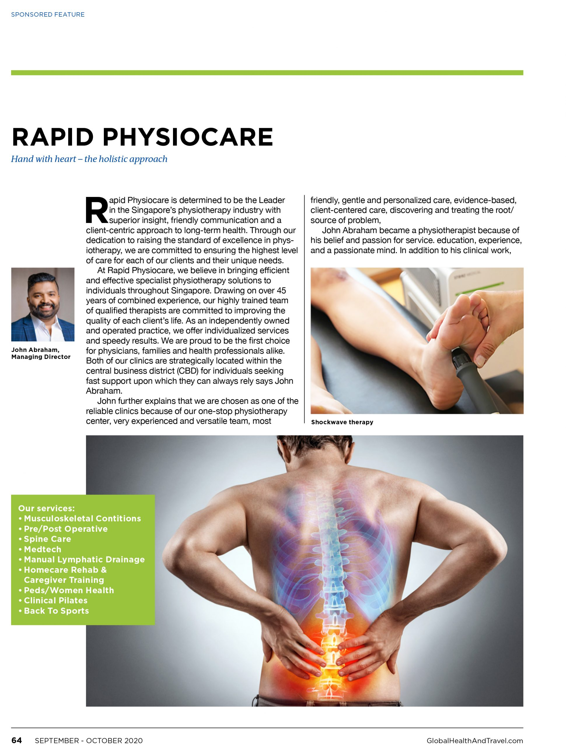 Rapid Physiocare Singapore