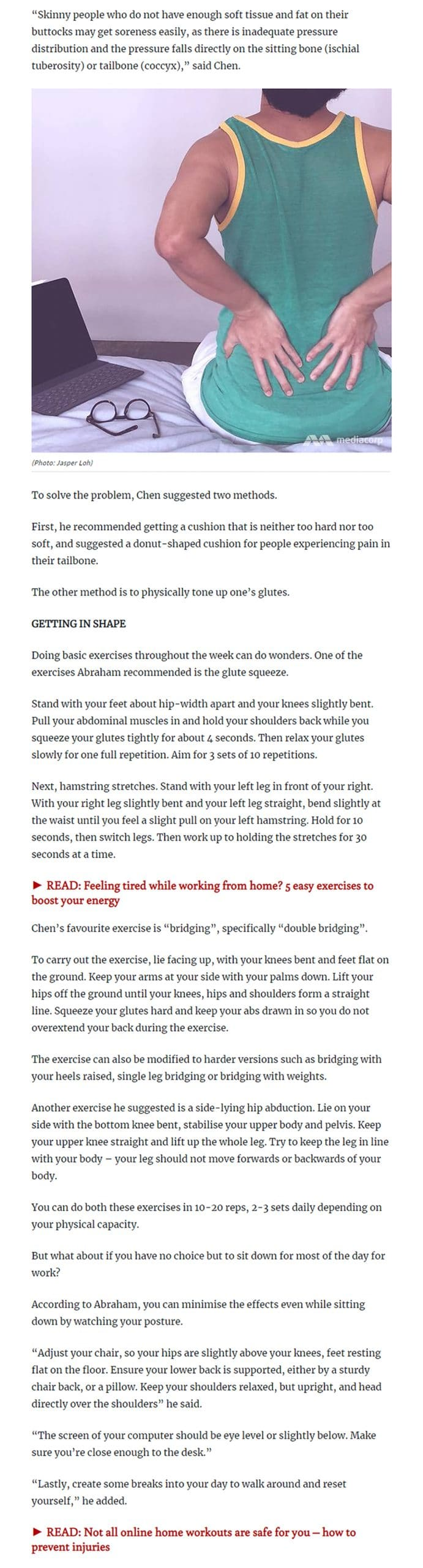 Five easy exercises to boost your energy