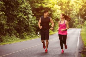 regular exercising